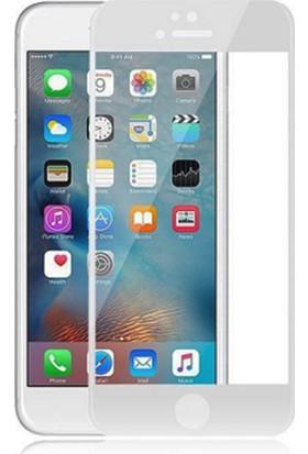 Twinix Apple iPhone 6 5D Ekran Koruyucu Cam 4 Katmanlı Beyaz