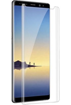 Twinix Samsung Galaxy Note 9 Uv Işınlı Ekran Koruyucu Tam Yapışan Cam