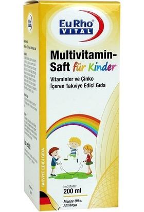 Eurho Vital Multivitamin Saft Şurup 200 ml