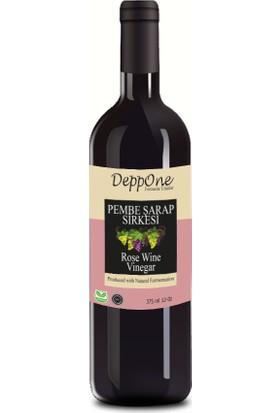 DeppOne Fermente Pembe Şarap Sirkesi 375 ml