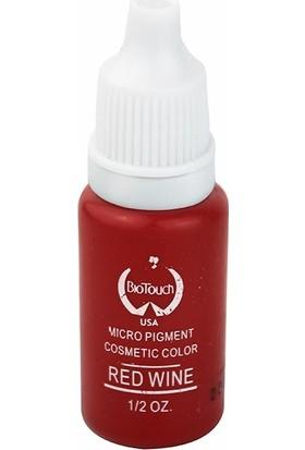 Biotouch Kalıcı Makyaj Boyası 15 ml Şarap Kırmızı