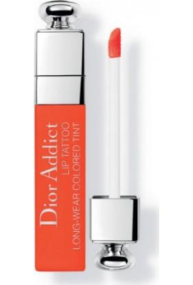 Dior Addict Lip Tattoo Color Juice 641 Orange Ruj