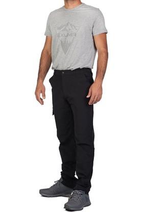 Exuma 118 3150 Erkek Siyah Outdoor Pantolon