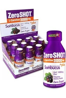Zeroshot L-Carnitine & CLA Orange 3000Mg + Plus Sambucus 60 Ml