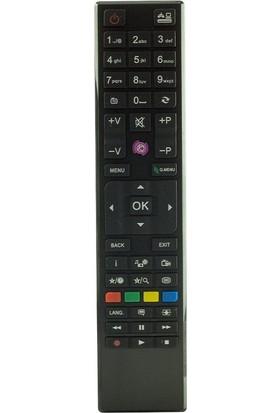 Rewel Vestel-Seg-Regal T1390 Lcd Mor Tuşlu Tv Kumandası
