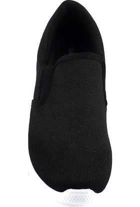 Jamper Siyah Günlük Yürüyüş Erkek Spor Ayakkabı