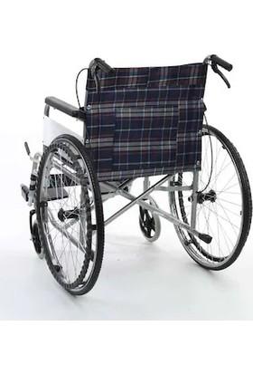 Golfi G099 Refakatçi Frenli Tekerlekli Sandalye Ekonomik Frenli