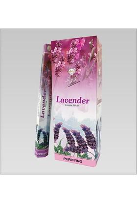 Flute Lavender İncense Sticks Lavantalı Tütsü Çubukları 20'li - 6 Adet