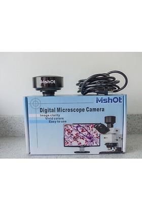 M-Shot 5.0 Mp Cmos Mikroskop Görüntüsü Transfer Kamerası ve Yazılımı