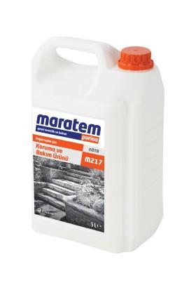 Maratem M217 Doğal Taşlar İçin Bakım Ürünü 5 Litre