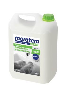 Maratem M106 Antibakteriyel Sıvı El Yıkama Ürünü 5 Litre