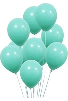 Tatlı Günler Metali̇k Balon Mi̇nt Yeşi̇li̇ 10 lu