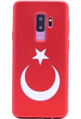 Eretna Samsung J7 Pro Kılıf Türk Bayraklı Silikon Kılıf