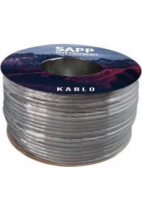 Sapp 50 Metre Cctv Kablo, Güvenlik Kamera Kablosu 2+1 0,22