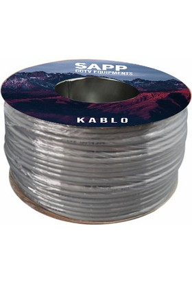 Sapp 100 Metre Cctv Kablo, Güvenlik Kamera Kablosu 2+1 0,22