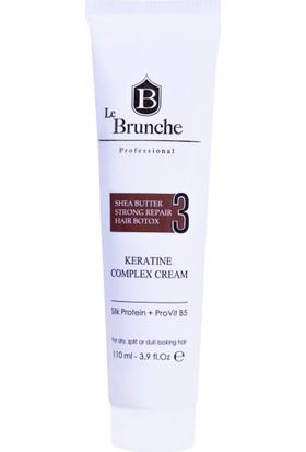Le Brunche Keratin Komplex Krem 110 ml Acil Kurtarma Kırık Uç ve Boy Önleyici
