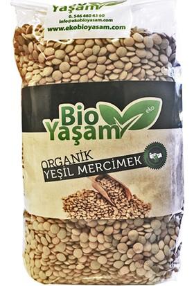 Bio Yaşam Organik Yeşil Mercimek 1 kg
