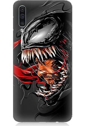 Teknomeg Samsung Galaxy A50 Venom Desenli Tasarım Silikon Kılıf