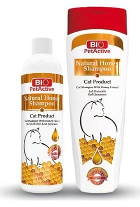 Bio Pet Active Kedi Şampuanı Bal Özlü 250 Ml