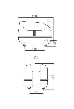 Resun Lp-40 Düşük Sesli Akvaryum Hava Pompası
