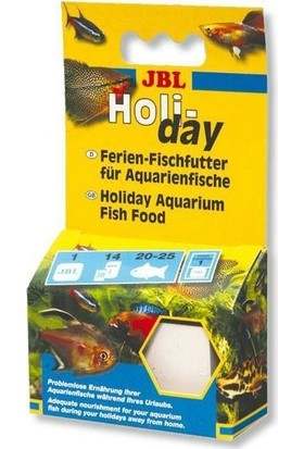 Jbl Holiday Balık Tatil Yemi 43 Gr
