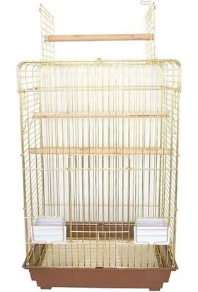 Dayang 830Ag Papağan Kafesi 52X41,5X78,5Cm
