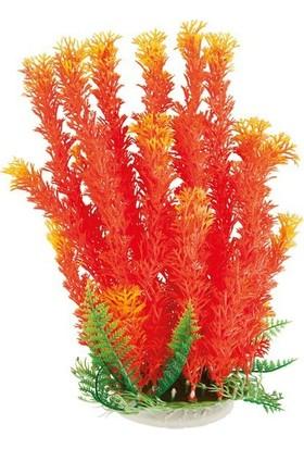 Aquatic-Plants Sarı-Turuncu-Yeşil Akvaryum Plastik Bitki