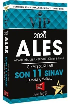 Yargı Yayınevi 2020 ALES VIP Tamamı Çözümlü Son 11 Sınav Çıkmış Sorular