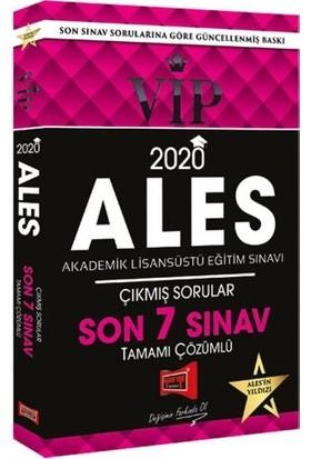 Yargı Yayınevi 2020 ALES VIP Tamamı Çözümlü Son 7 Sınav Çıkmış Sorular