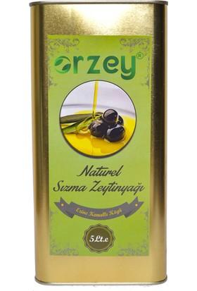 Orzey Naturel Sizma Zeyti̇nyaği 5 lt
