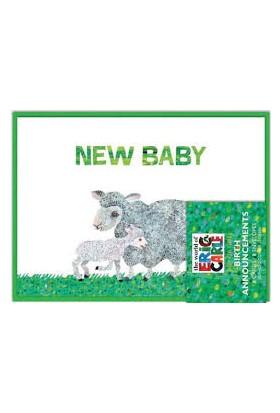 Chronicle Books Eric Carle Dünyası ™ Baby Shower Teşekkürler Notları