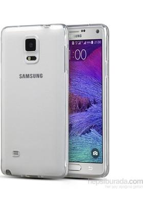Notebookuzman Samsung Galaxy Note 4 N910 Şeffaf Silikon Kılıf