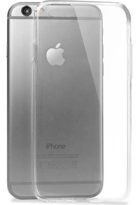 Notebookuzman iPhone 6/6s Plus Ultra İnce Şeffaf Silikon Kılıf