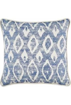 Buka Sofa Home Felicia Goo Mavi Kare Dekoratif Kırlent