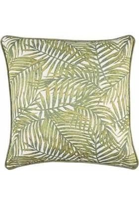 Buka Sofa Home Majorelle Palm Kare Dekoratif Kırlent
