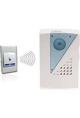 Technomax Wi̇reless Kablosuz Uzaktan Kumandali Kapi Zi̇li̇ 36 Melodi̇li̇