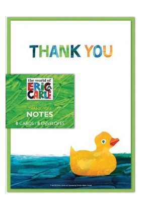 Chronicle Books Eric Carle Dünyası Baby Shower Thank You