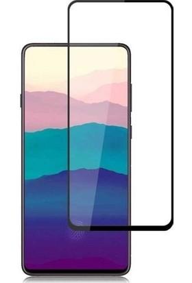 Telbor Samsung Galaxy A80 Tam Kaplayan Ultra İnce Ekran Koruyucu - Siyah