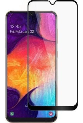 Onli̇ne Samsung Galaxy M30 5D Tam Kaplayan Ekran Koruyucu Cam