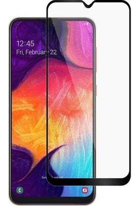 Online Samsung Galaxy A20 5D Tam Kaplayan Ekran Koruyucu Cam