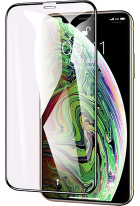 Aktif Aksesuar Apple iPhone Xr 10D Full Kaplayan Curved Temperli Ekran Koruyucu