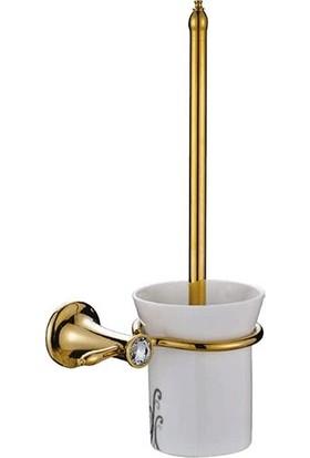 Acar Stilla Gold Klozet Fırçalık Altın Renkli