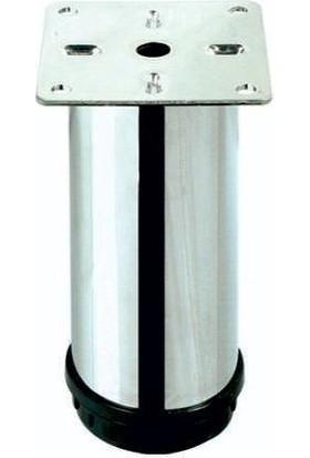 Çelebi Metal Yuvarlak Ayak Krom Ø 42 - 15 Cm