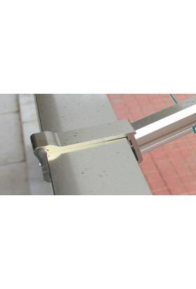 Kare Küpeşte Alümi̇nyum Balkon Çamaşirlik Kurutmalik 60X25