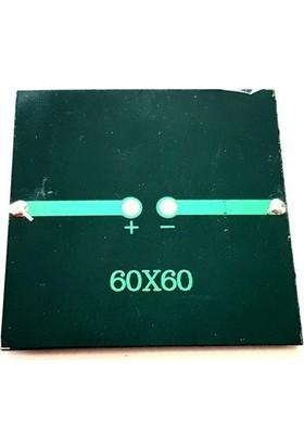 Electroon 4.2V 100MA 60X60MM Güneş Paneli