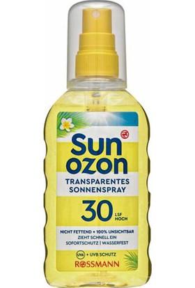 Sun Ozon Güneş Spreyi Transparent SPF30 200 ml