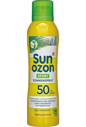 Sun Ozon Güneş Spreyi Spf 50 Sporculara Özel 200 ml