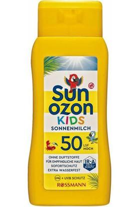 Sun Ozon Güneş Sütü Çocuklar İçin SPF50 200 ml