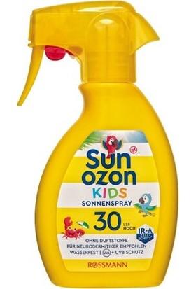 Sun Ozon Güneş Spreyi Çoçuklar İçin SPF30 250 ml