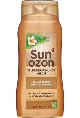 Sun Ozon Bronzlaştırıcı Süt Normal Ciltler Için 200 ml